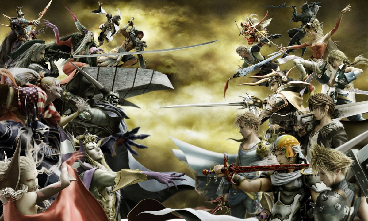 Heroes and Villains in the Final Fantasy Series
