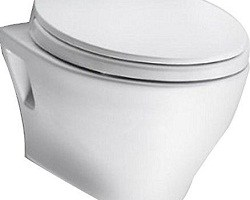 TOTO CT418F#01 Aquia Toilet