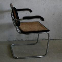 Marcel Breuer Cesca Chair With Armrests Revolving Chairs Online Pakistan By Tasteful Objects Toinc