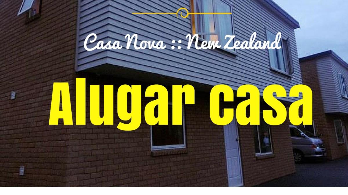 Aluguel de casa ou quarto na Nova Zelandia