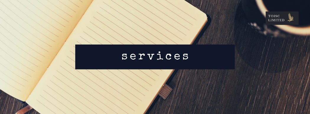 Toisc Limited, Services, Online, offline, advertising, website, seo, leaflets, social media, direct mail