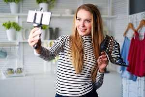 Bloggaaja nainen