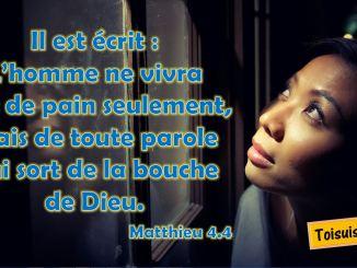 Matthieu 4.4