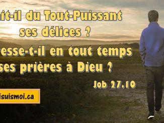 Job 27.10