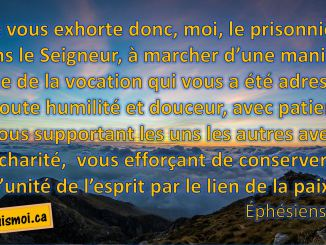 Éphésiens 4.1-3