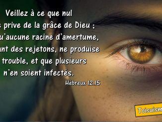 Hébreux 12.15