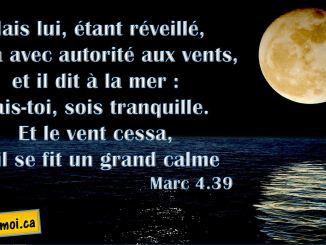 Marc 4.39