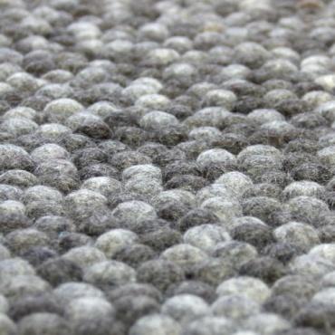 tapis rond laine enredada