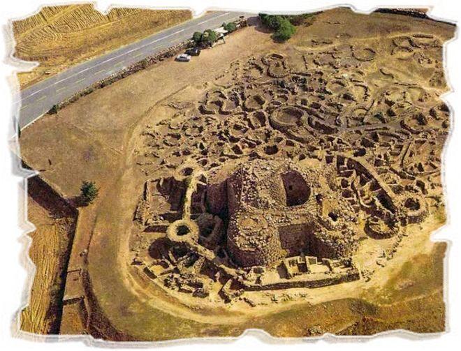 Один из древних нурагов Сардинии
