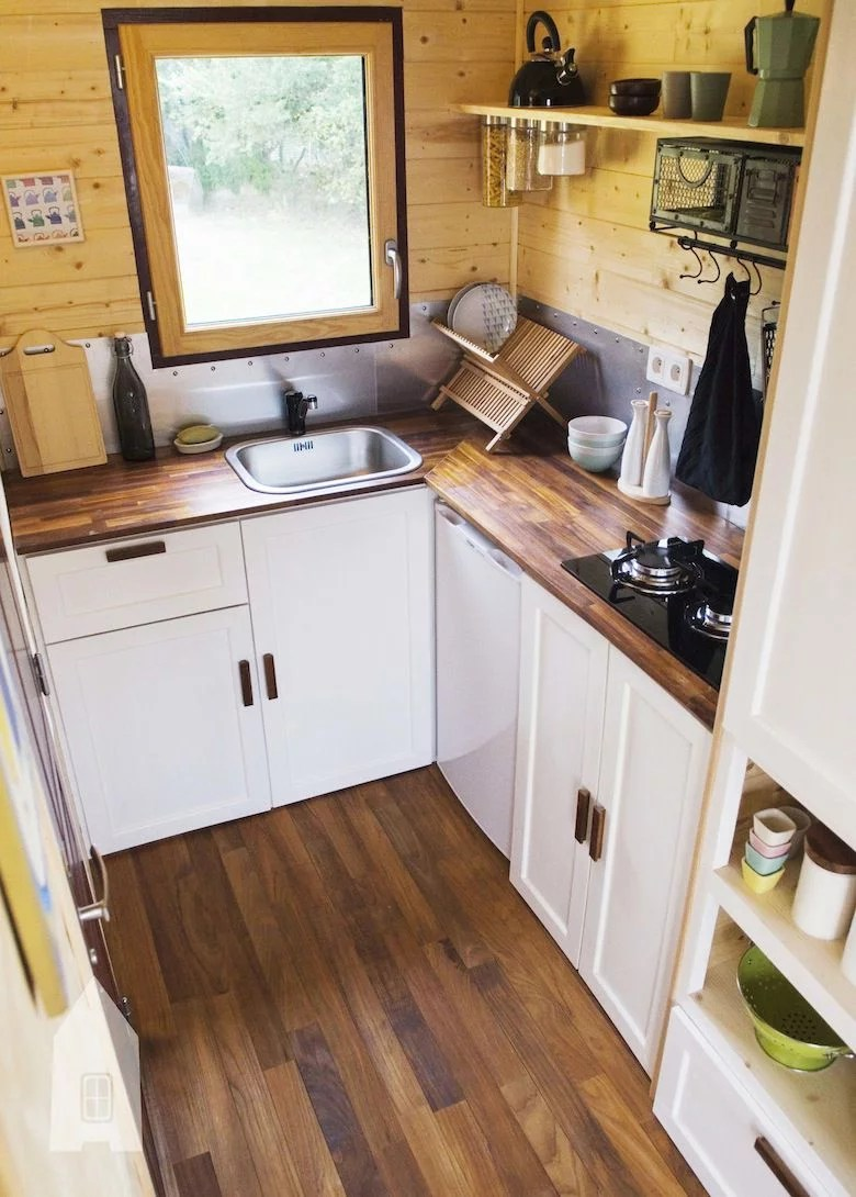 Tiny House fabrique en France  le projet Baluchon