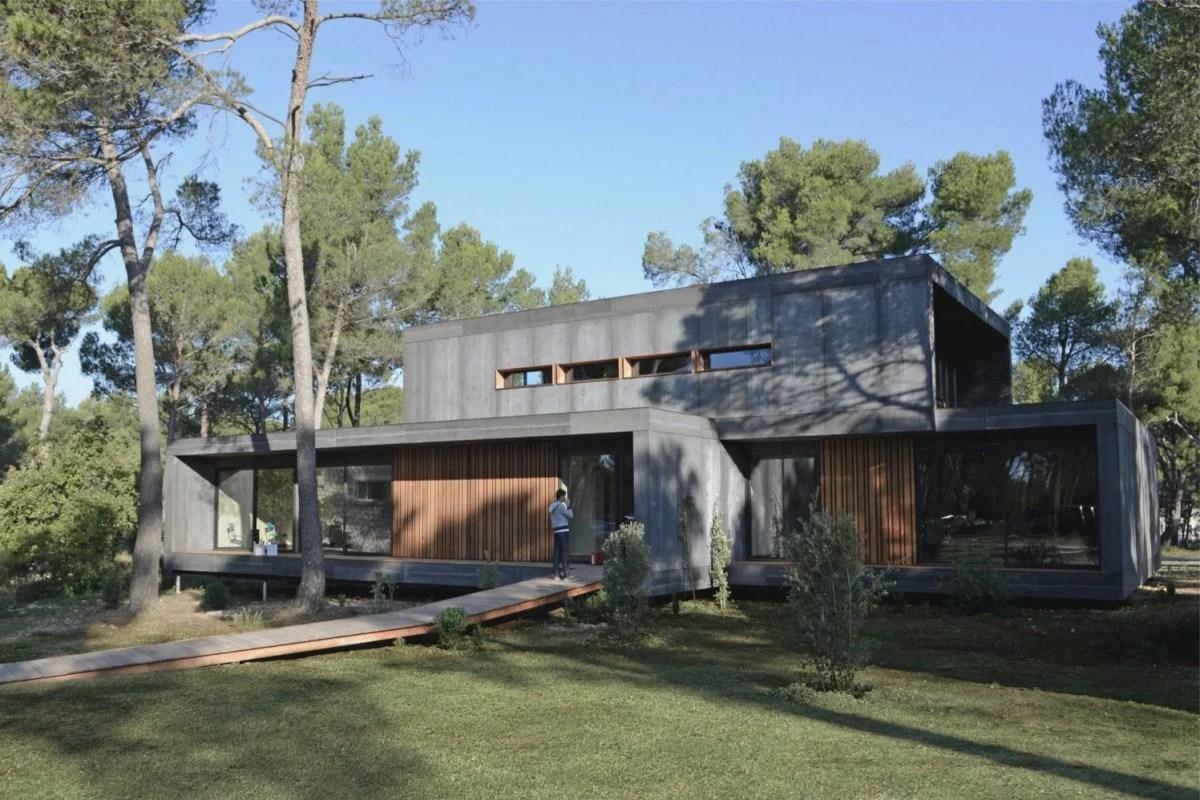 la pop up house la maison ecologique francaise economique et passive a construire en 4 jours