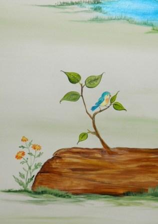ζωγραφική παιδικών δωματίων, παιδικές τοιχογραφίες, ζωγραφική τοιχου