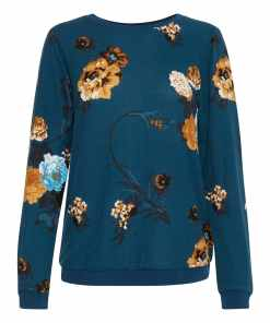 Fransa FISOFT 1 Sweatshirt Reflecting Pond Mix
