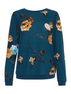 Fransa FISOFT 1 Sweatshirt Reflecting Pond Mix