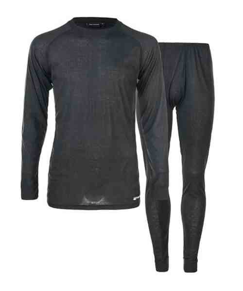 Whistler Oppdal M Ski Underwear Set Black