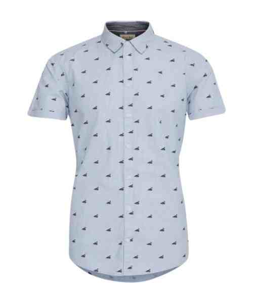 Blend Skjorte SS 20710907 Federal Blue