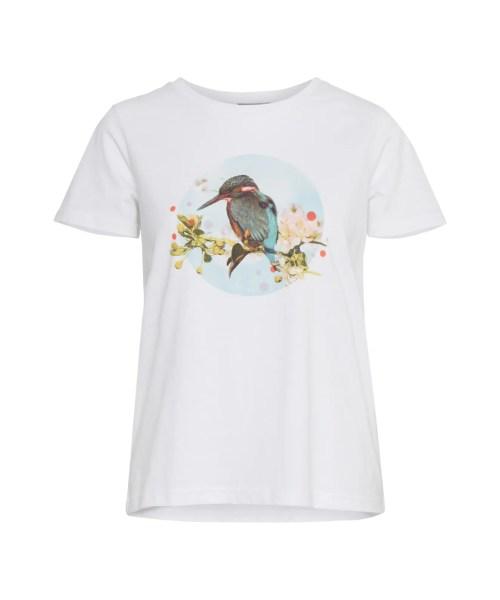 Fransa Fritorga 1 T-shirt Blue Bird
