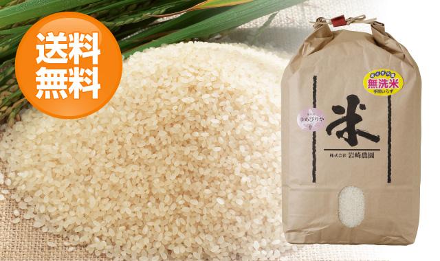 岩崎農園ゆめぴりか【無洗米】5kg