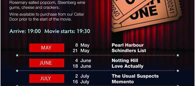 Movie Nights at Steenberg