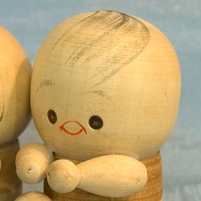 Kokeshi Japanese Wooden Doll Wooden Ningyo Figurine Japan Tokaido Softypapa