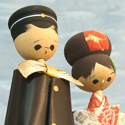 Kokeshi Japanese Wooden Doll Wooden Ningyo Figurine Japan TokaidoSoftypapa