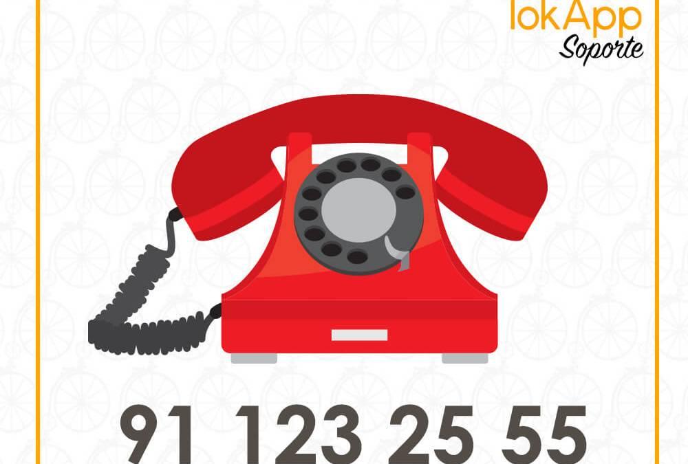 Teléfono directo para ayuda y soporte técnico: +34 886 08 09 96