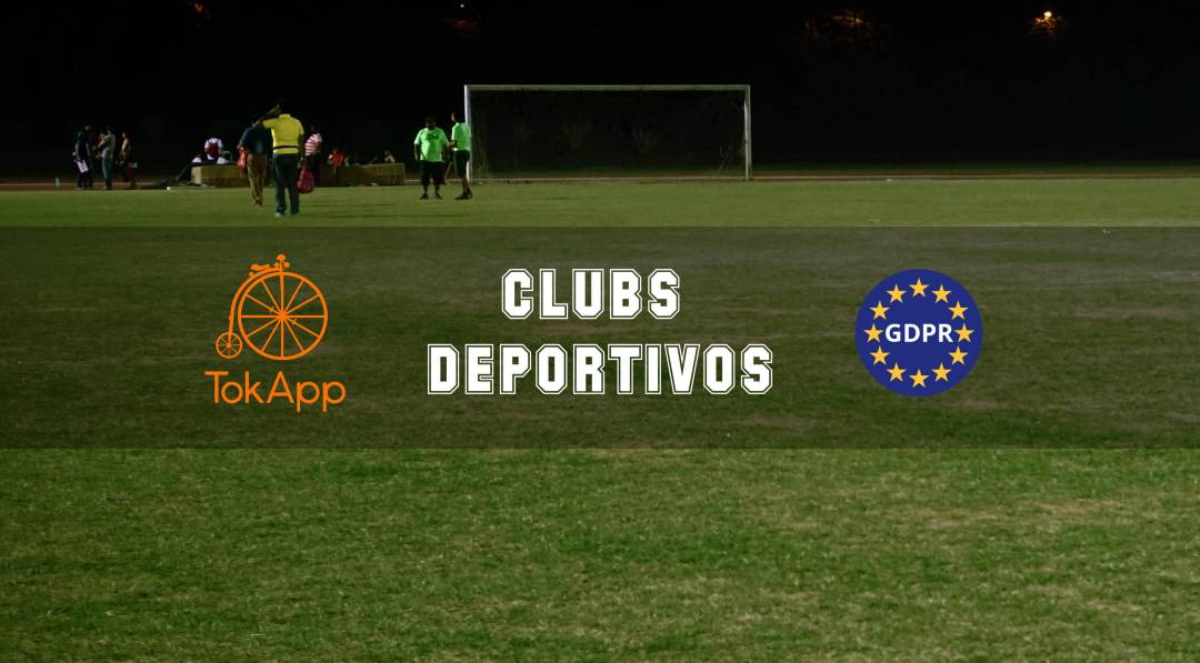 gdpr clubs deportivos