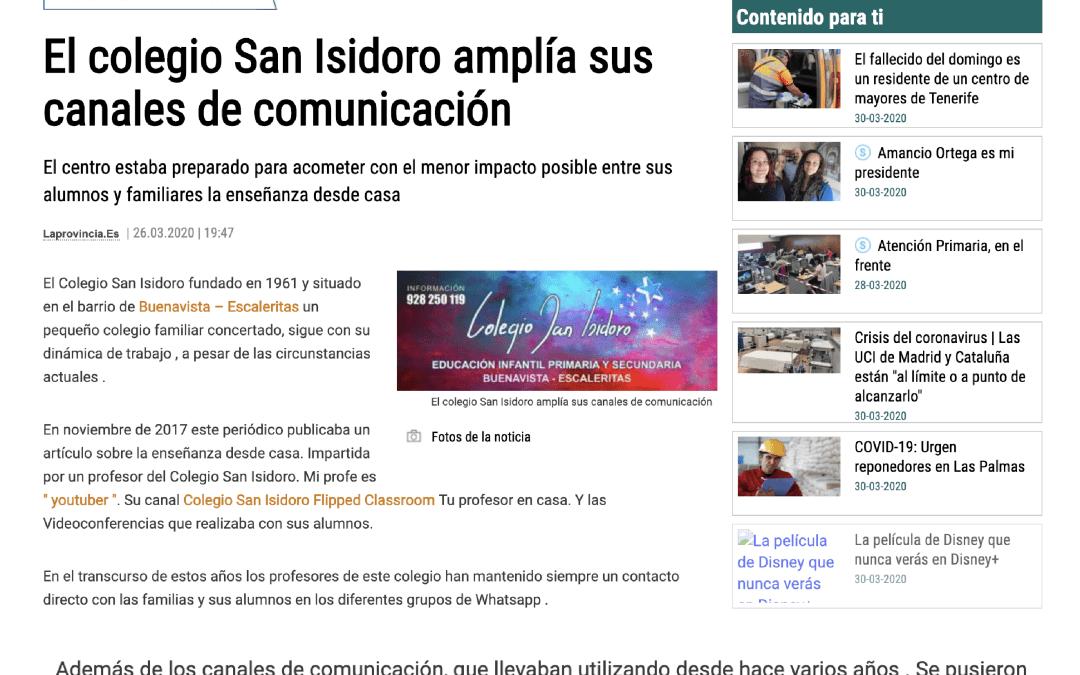 TokApp School en el Diario de Las Palmas