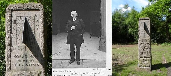 Посередині світлиина Вільяма Волета, а з по боках фото меморіялу на його честь.