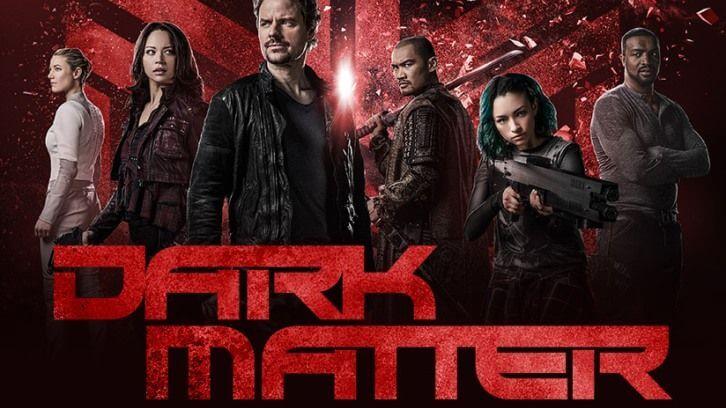 Обкладинка третього сезону серіалу «Темна матерія»