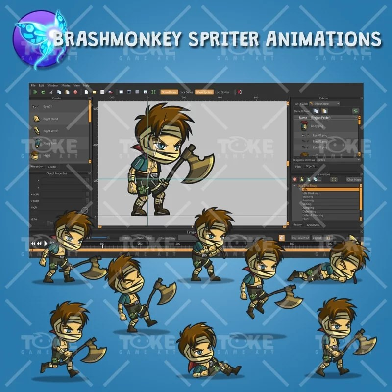 Jack The Thug - Brashmonkey Spriter Animation