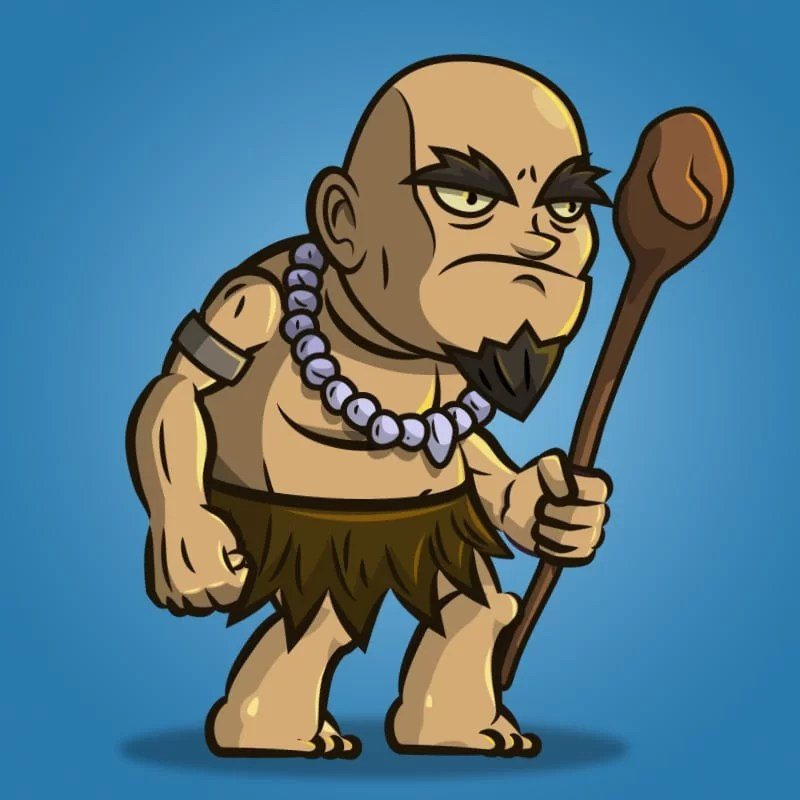 The Shaman - 2D Character Sprite