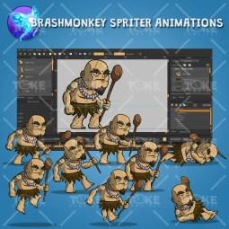 The Shaman - Brashmonkey Spriter Animation