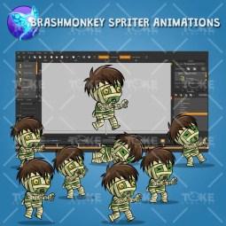 Tiny Mummy - Brashmonkey Spriter Animation