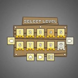 Western GUI - Game GUI
