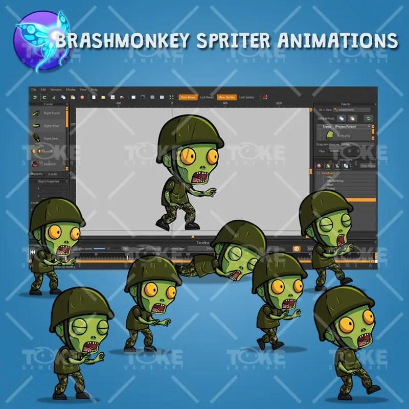 G.I. Joe Zombie - Brashmonkey Spriter Animation