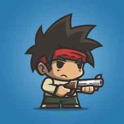 Tiny Guy Arnold - 2D Character Sprite