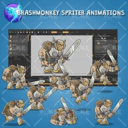 Dungeon Bosses - Brashmonkey Spriter Animation