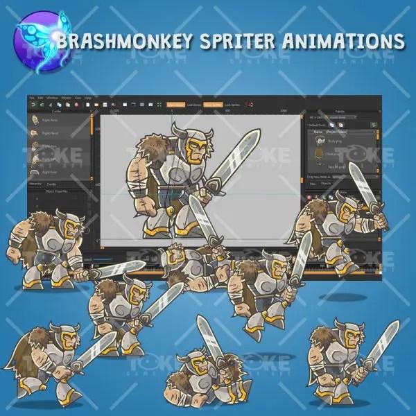 Dungeon Bosses - Brashmonkey Spriter Animation