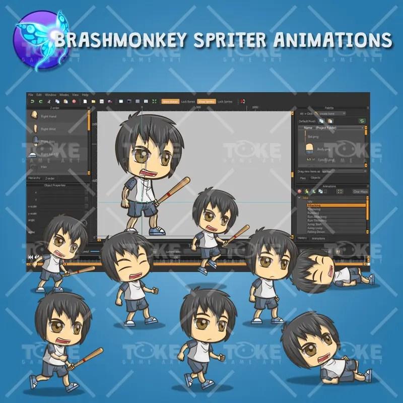 Jake Adventurous Boy - Brashmonkey Animation