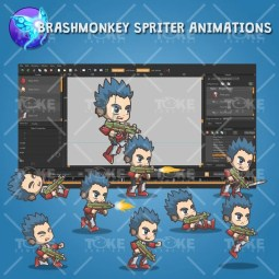 Joe From The Metro Squad - Brashmonkey Spriter Animation