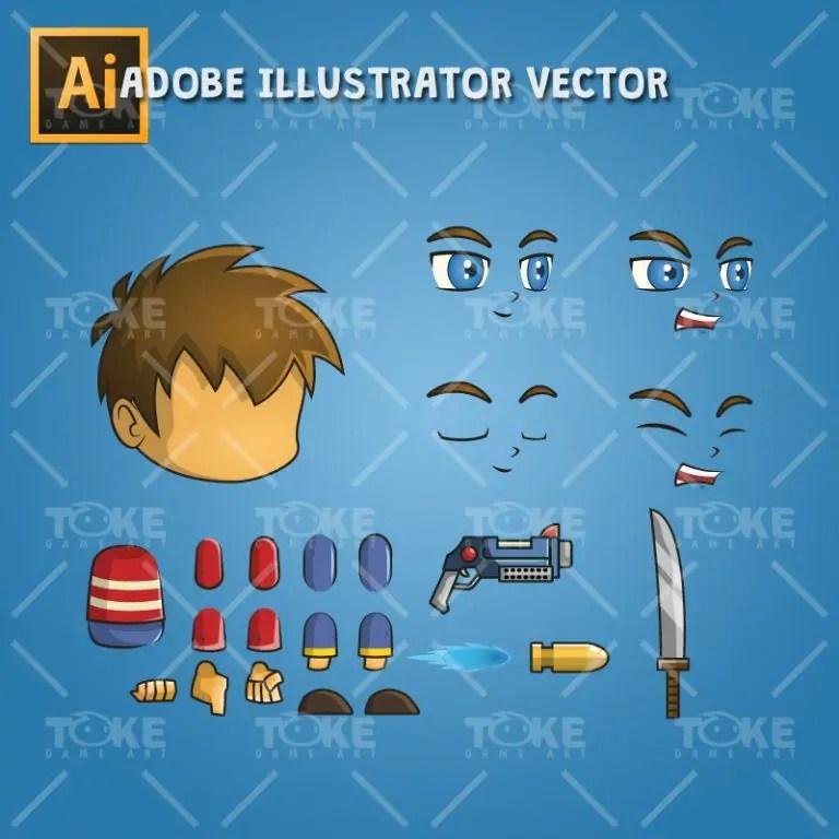 Good Boy - Adobe Illustrator Vector Art Based
