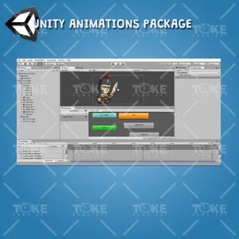 Tiny Knight - Unity Animation Ready