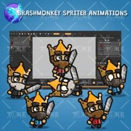 Tiny Style Character - King - Brashmonkey Spriter Animation