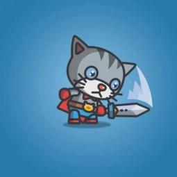 Super Cat - 2D Character Sprite