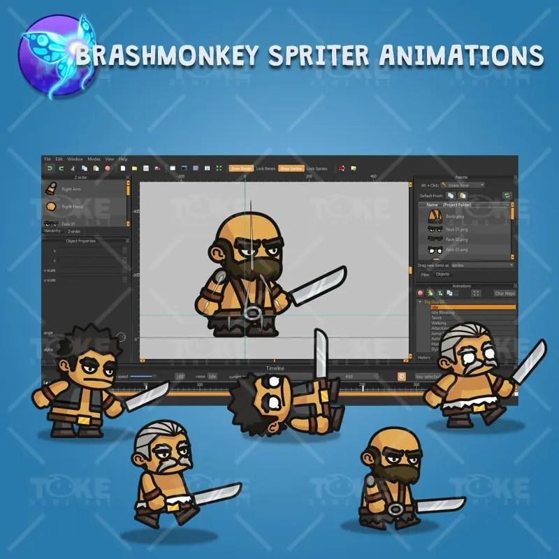 Big Guy - Brashmonkey Spriter Animation