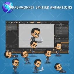 Hero Guy - Brashmonkey Spriter Animation