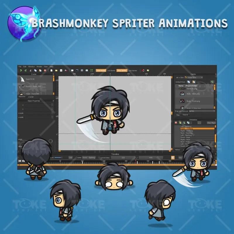 Ryu - Brashmonkey Spriter Animation