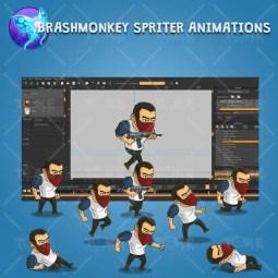 Urban Thug - Brashmonkey Spriter Animation