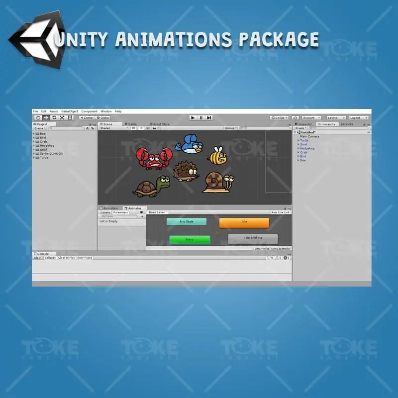 Cartoon Enemy Pack 02 - Unity Animation Ready
